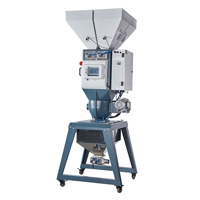 Automatic weighing color mixing machine